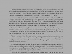 Vue dans l'application Kindle iPad